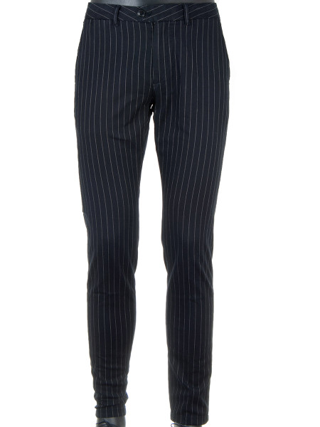 Pinstripe Cotton Pants
