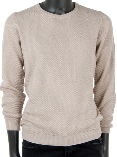 Camel Cotton Sweater