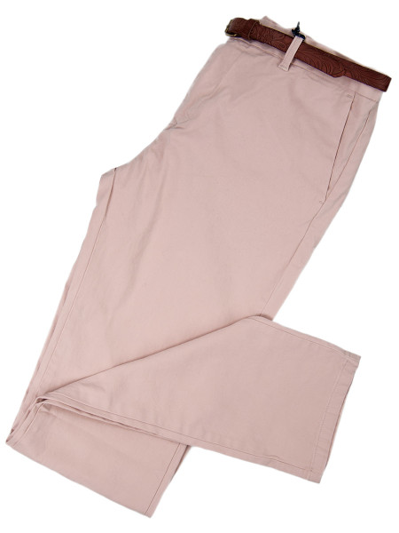 Light Rose Slim Fit Stretch Chinos