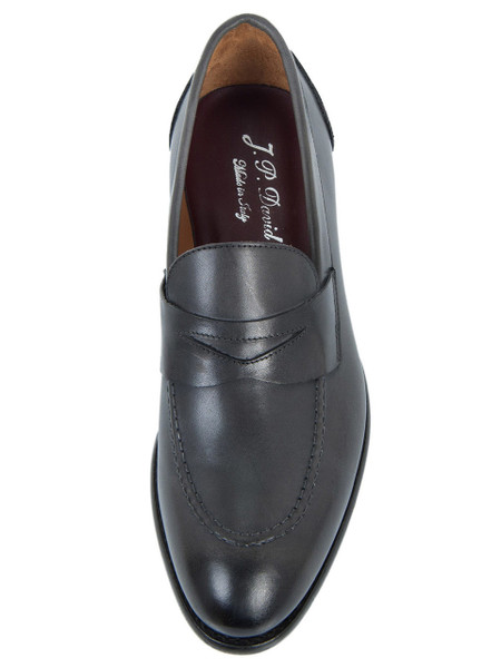 Charcoal Penny Loafer