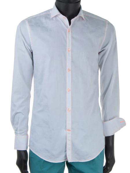 White Camouflage Dress Shirt