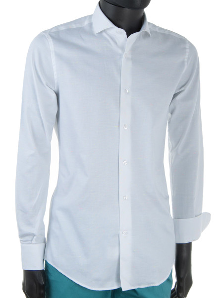 White Fluorescent Fleck Shirt