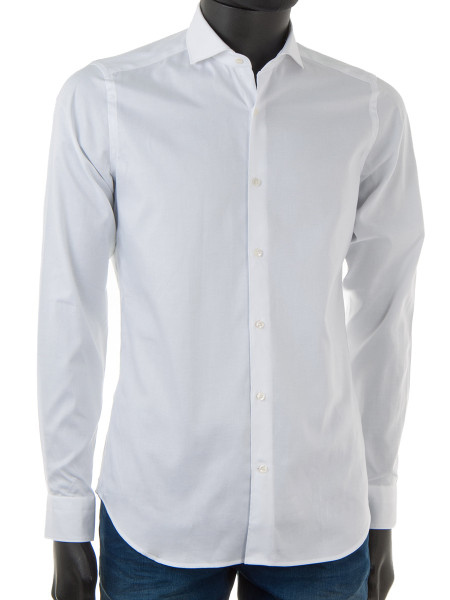 White Oxford Cotton Shirt