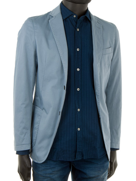 Striped Indigo Stonewash Shirt