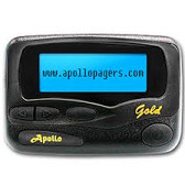 Replacement Apollo Gold (W/ Your Same Metrotel Pager Number)