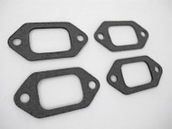 "Use What The Pros Use! Set of 4 NEW GAS BURNER GASKETS. These are NEW Stove Top Burner Gaskets. They fit the vintage O'Keefe & Merritt, Wedgewood, Roper and other stove brands from the 40's, 50's and 60's. MEASUREMENT: Gasket Mounting Holes 2.0"" on center"