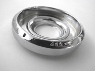 """Original Vintage Robertshaw Gas OVEN CONTROL KNOB Bezel Ring. This chrome ring is an original with NEW CHROME. Rear Sleeve Depth: 1/4"""""""
