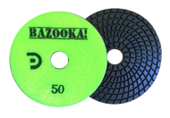 "Bazooka 4"" Spiral 7-Step Wet Polishing Pad"