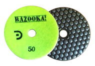 "Bazooka 4"" Honey-Comb 7-Step Dry Polishing Pad"