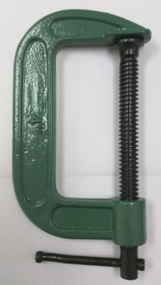 "4"" C-Clamps (Green)"