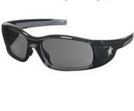 Safety Glasses Polished Black Frame
