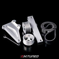 K-Tuned - AC & PS Elim. Pulley Kit - Universal