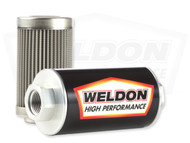 Weldon Racing - -8 ORB 100 Micron Stainless Filter Assembly