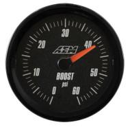 AEM - Analog Boost Gauge (SAE Measurement 0-60psi)