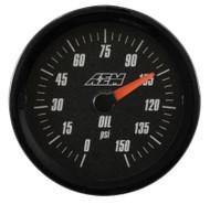 AEM - Analog Oil Pressure Gauge (SAE Measurement)