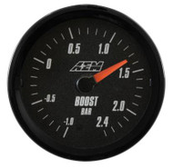 AEM - Analog Boost Gauge (Metric Measurement)
