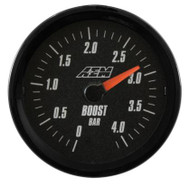 AEM - AEM Analog 4.1Bar Boost Gauge (Metric)
