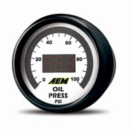 AEM -  52mm Pressure (Oil or Fuel) Digital Gauge