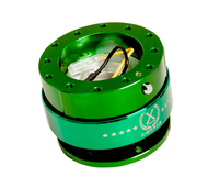 NRG - Quick Release GEN 2.0 (Green Body/Chrome Green Ring)