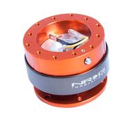 NRG - Quick Release GEN 2.0 (Orange Body/Titanium Chrome Ring)