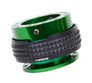 NRG - Quick Release PYRAMID GEN 2.1 (Green Body/Black Ring)