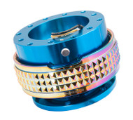 NRG - Quick Release PYRAMID GEN 2.1 (Blue Body/Neo Chrome Gold Ring)