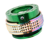 NRG - Quick Release PYRAMID GEN 2.1 (Green Body/Neo Chrome Gold Ring)