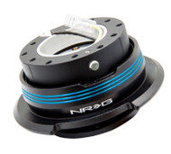 NRG - Quick Release GEN 2.9 (Black Body/Blue Striped Ring)