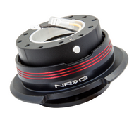 NRG - Quick Release GEN 2.9 (Black Body/Red Striped Ring)