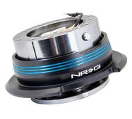 NRG - Quick Release GEN 2.9 (Gun Metal Body/Blue Striped Ring)