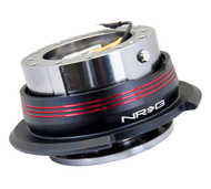 NRG - Quick Release GEN 2.9 (Gun Metal Body/Red Striped Ring)
