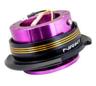 NRG - Quick Release GEN 2.9 (Purple Body/Chrome Gold Striped Ring)