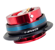NRG - Quick Release GEN 2.9 (Red Body/Blue Striped Ring)