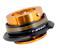 NRG - Quick Release GEN 2.9 (Rose Gold Body/Chrome Gold Striped Ring)