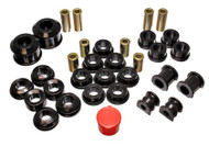 Energy Suspension - 02-05 Honda Civic Si Black Hyper-Flex Master Bushing Set