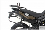 "BMW F800GS Pannier Frames - ""Lock-it"" (black)"
