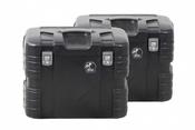 Hepco & Becker GOBI 37 Litre Side Case Set (Black)