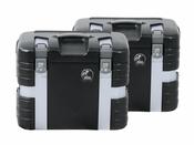 Hepco & Becker GOBI 37 Litre Side Case Set (Black Edition)