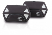 Hepco & Becker ROYSTER 22 Litre C-Bow Side Pocket Set (Black Zipper)
