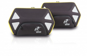 Hepco & Becker ROYSTER 22 Litre C-Bow Side Pocket Set (Yellow Zipper)
