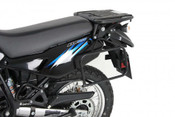 "KAWASAKI KLR650 ""Lock-it"" Pannier Frames (black)"