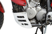HONDA XL650V Transalp Engine Protection Plate (silver)