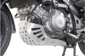 SUZUKI DL1000 V-Strom Engine Protection Plate (silver)