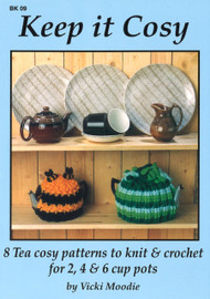 Image of Craft Moods book BK09 Keep it Cosy by Vicki Moodie.