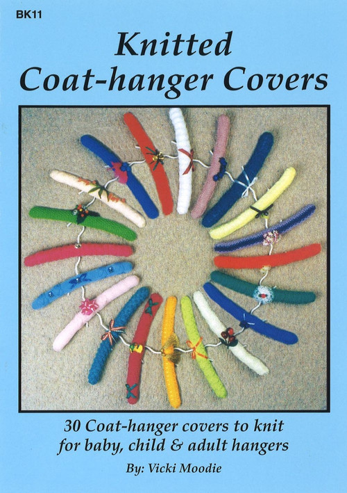 Image of Craft Moods book BK11 Knitted Coat-hanger Covers by Vicki Moodie.