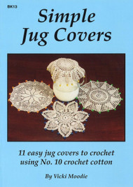 Image of Craft Moods book BK13 Simple Jug Covers by Vicki Moodie.