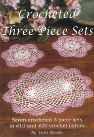 Image for Craft Moods book BK22 Crocheted Three Piece Sets by Vicki Moodie.
