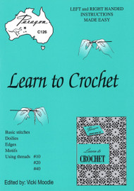 Image of Paragon book PARC126, Learn to Crochet, edited by Vicki Moodie.