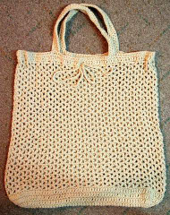 CMPATC001 Large Crocheted Bag
