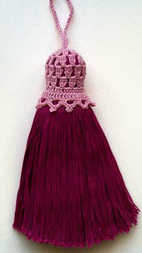 CMPATC017 - Pattern for Tassel - Fuchsia